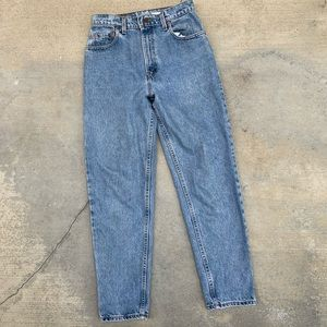 Vintage 89s Levis 550 Relaxed Fit Jean